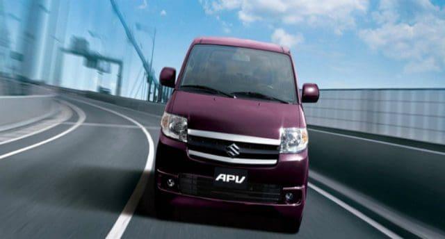 Purple Suzuki APV