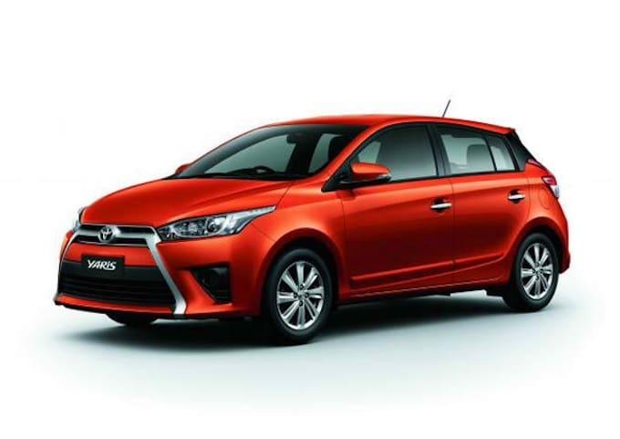 Red Toyota Yaris