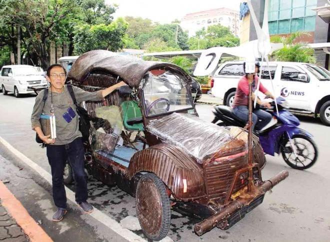 Bangkarwayan: The Philippines' Solar Powered Bamboo Car