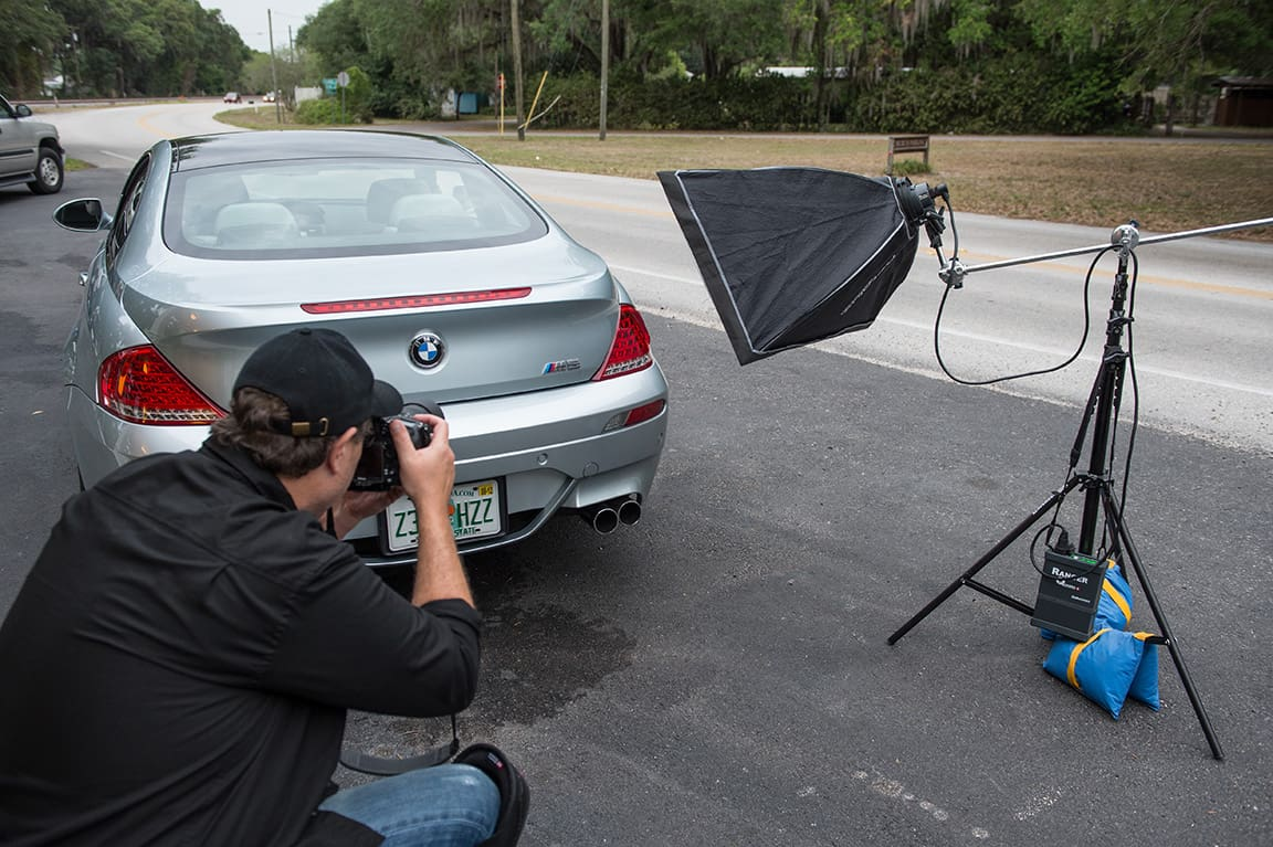 How to photograph your used car like a pro