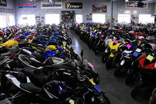 motorcycles in one of Carmudi's dealers