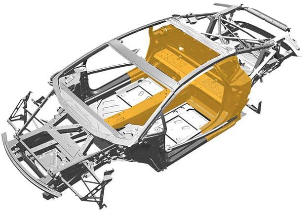 Huracan chassis