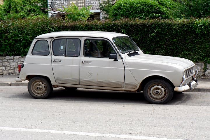 Renault 4 car of Pope Francis