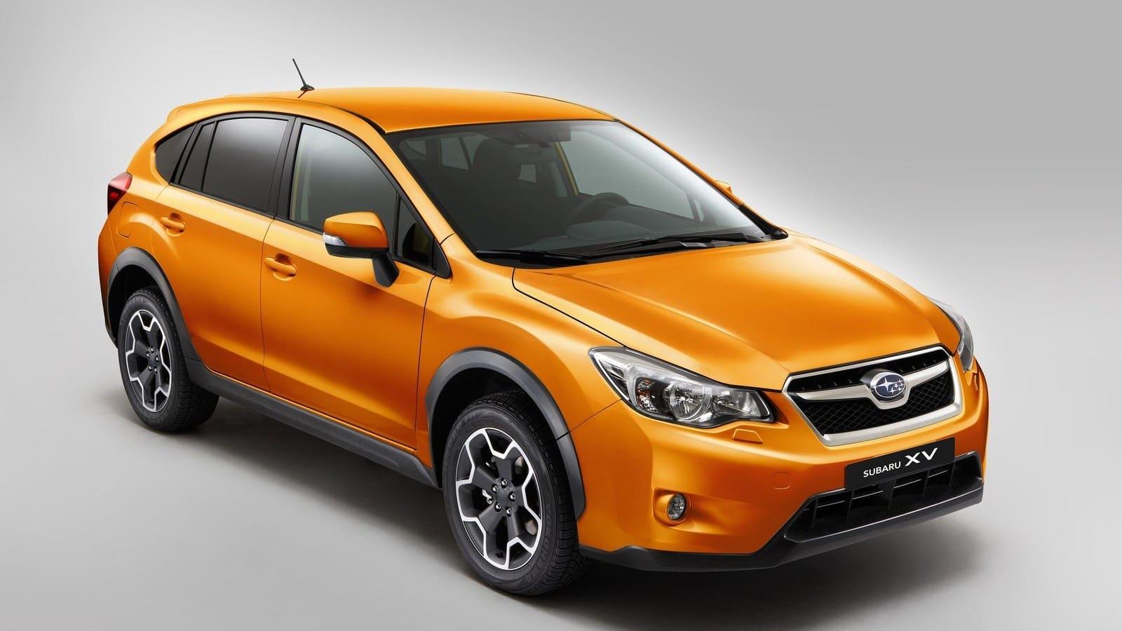 Orange Subaru XV