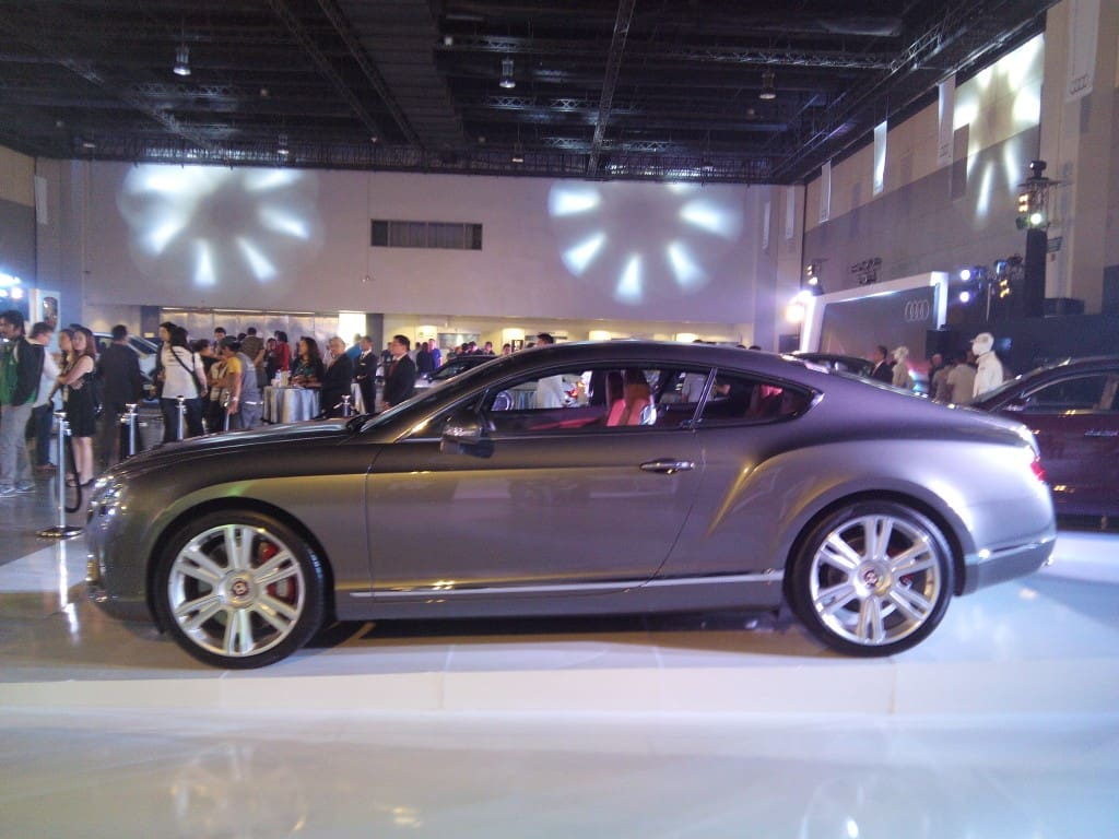 Bentley's Continental GT V8
