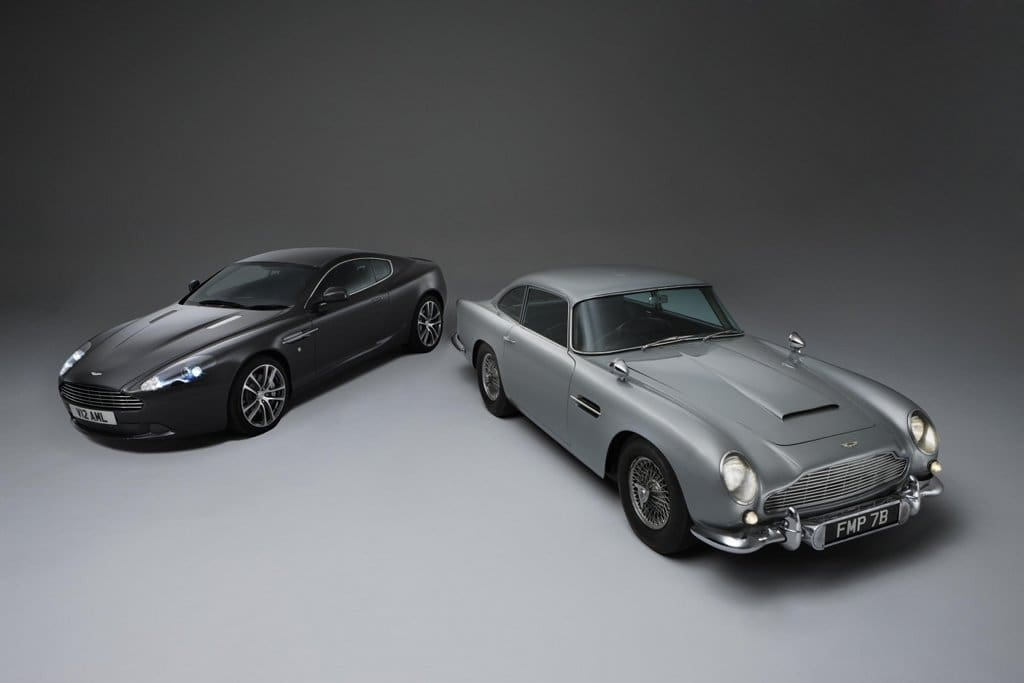 Aston Martin D5 and D9