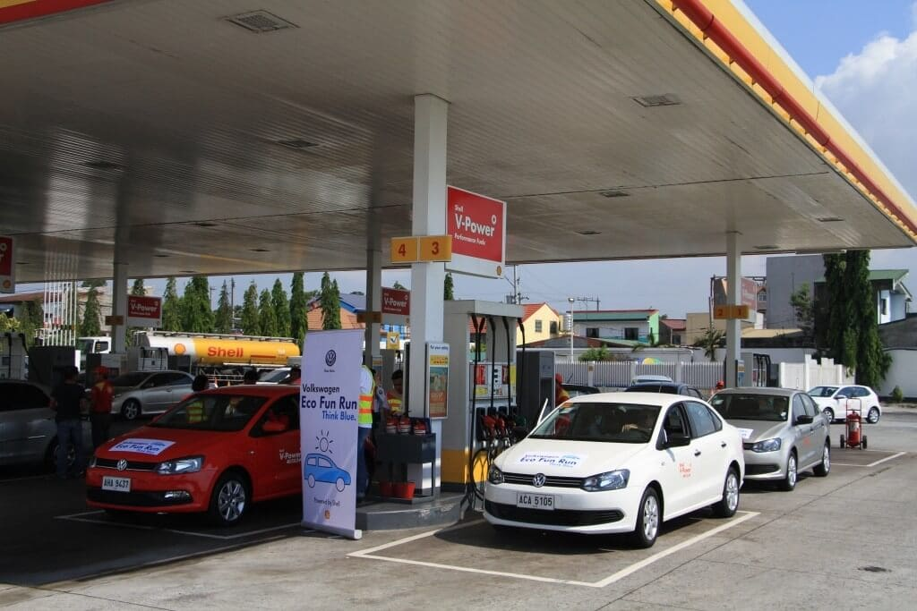 Shell gas station Philippines