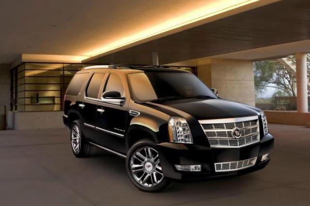 Black Cadillac Escalade