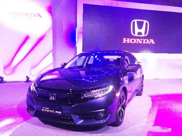 New Honda Civic front view