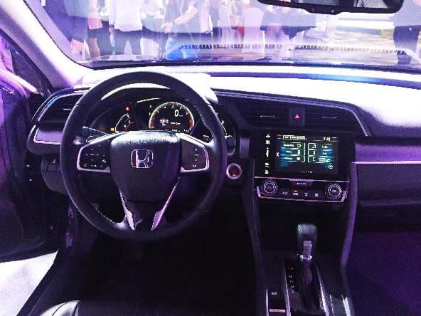 New Honda Civic interior