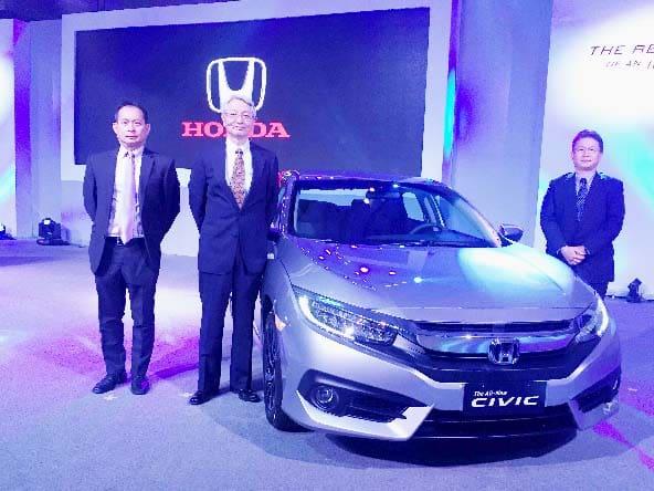 Say hello to the all-new Honda Civic!