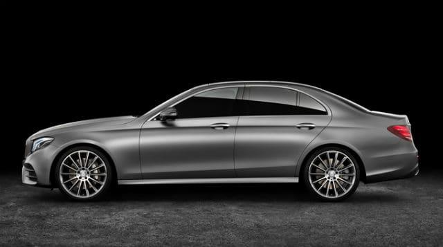 Dark Silver Mercedes Benz E-Class
