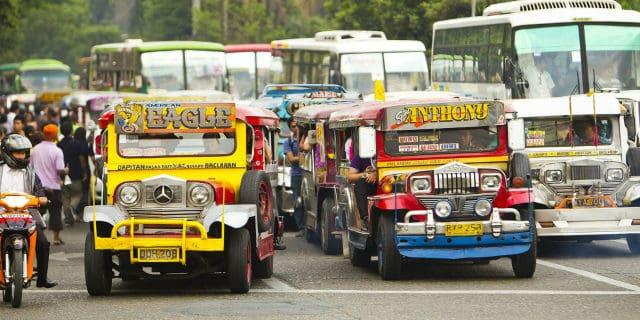 Traffic in Philippines