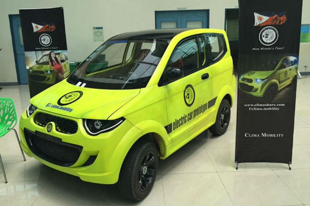 Clima Mobility Introduces Filipino Made Electric Car