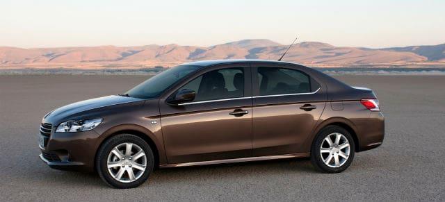 Brown Peugeot 301