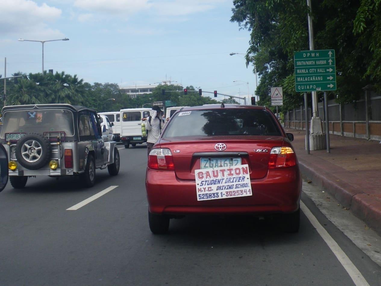 Popular Driving Schools in Metro Manila