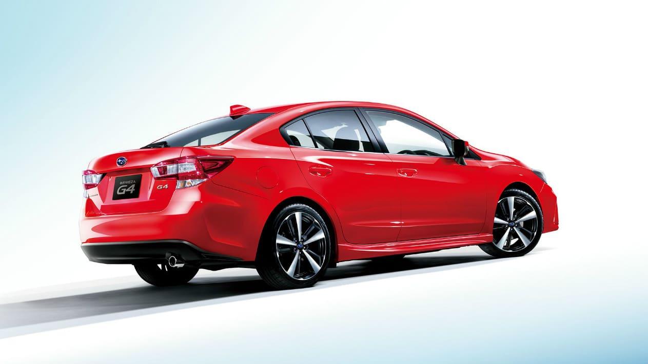 2017 Subaru Impreza Body Red