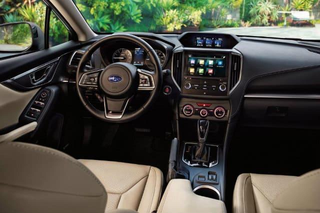 2017 Subar Impreza dashboard interior