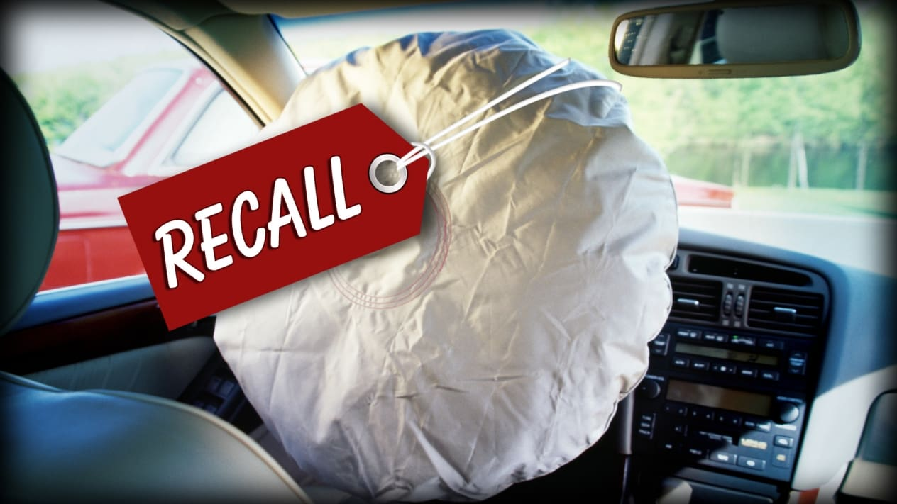 Toyota Recalls Over 1 Million Units Worldwide for Airbag Issue