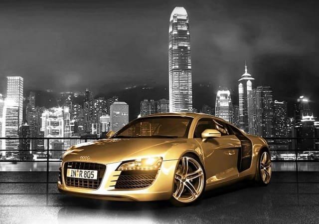 Gold Audi