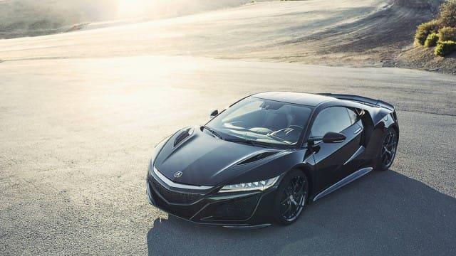 Black Acura
