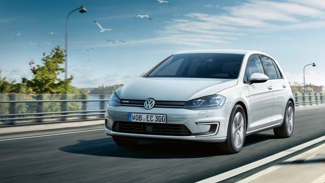 Silver Volkswagen Golf