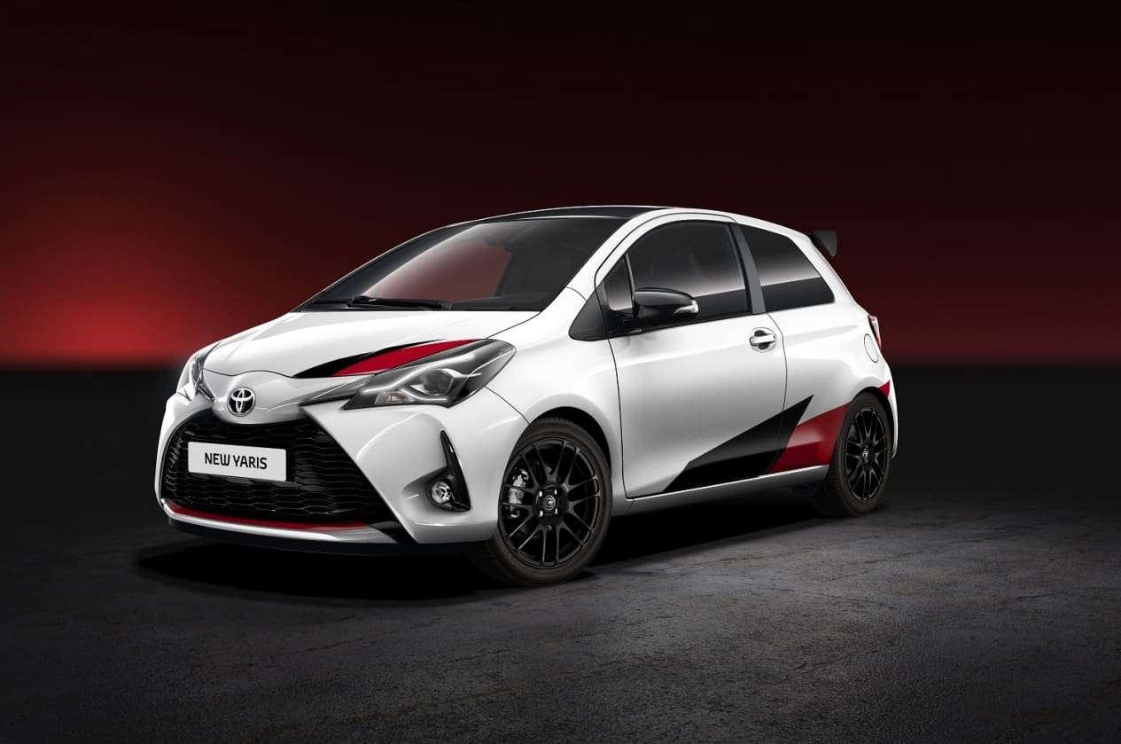 Toyota Unveils Its High Performance Hatchback: The Toyota Yaris GRMN
