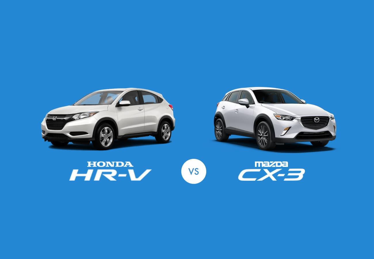 Mazda CX-3 2017 vs Honda HR-V 2017 Carparison