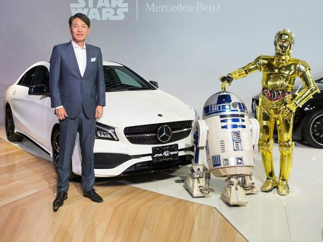 Mercedes-Benz Star Wars CLA 180 Special Edition
