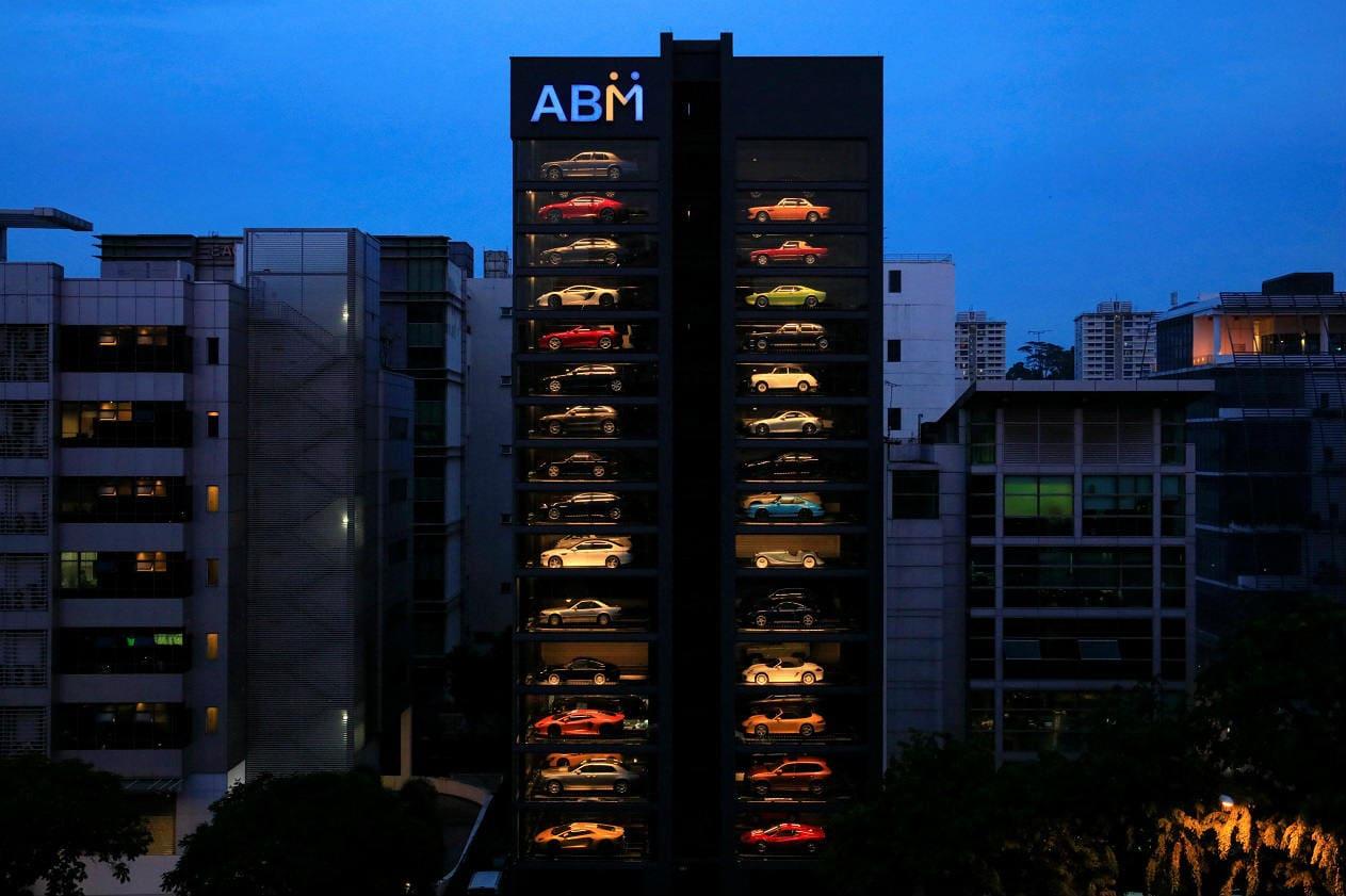 world's largest luxury car vending machine