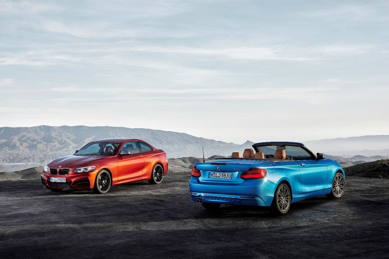 BMW Updates 2 Series Coupe And Convertible