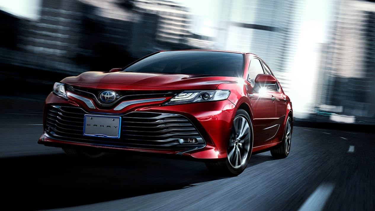 "Say ""Konnichiwa"" to the Japanese Version of Toyota Camry 2018"