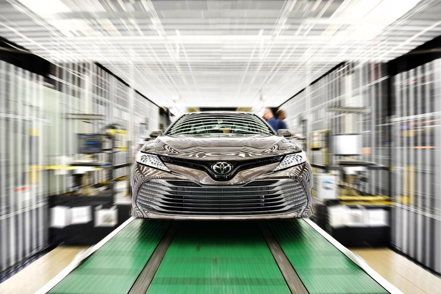 Toyota USA Starts Production of All-New 2018 Toyota Camry