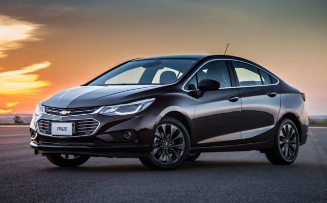 Black Chevrolet Cruze