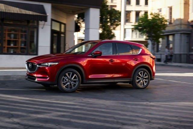 Red Mazda CX5