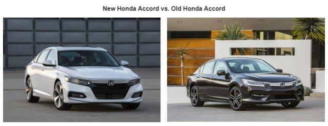 Honda Accord 2018 vs Old Honda Accord