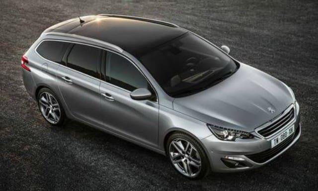 Gray Peugeot 308 Station Wagon Allure