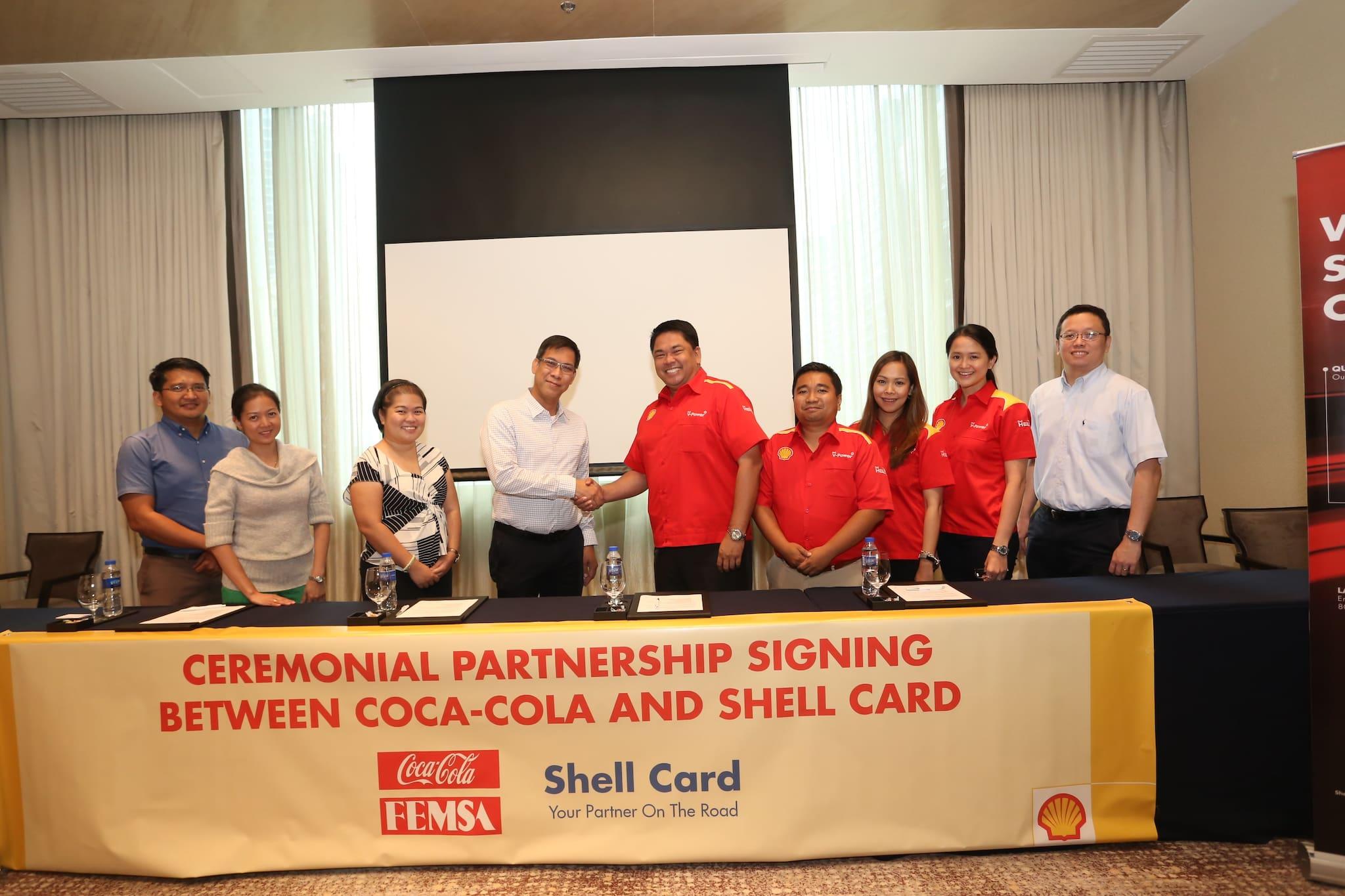 Shell Fleet Card strengthens partnership with Coca-Cola FEMSA Philippines