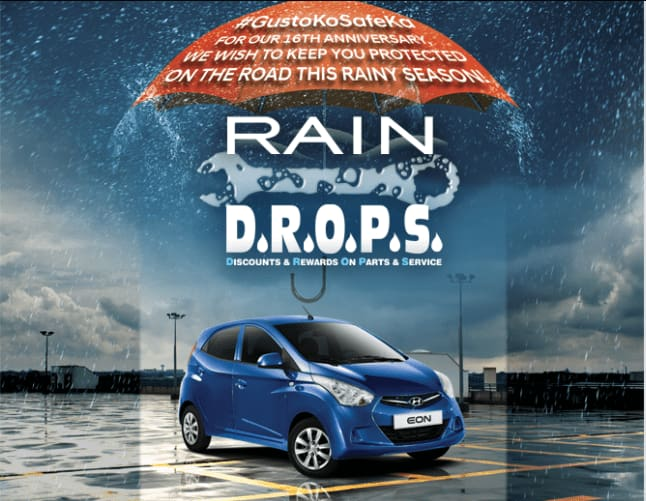 Give Your Hyundai Car Some TLC with Hyundai PH's RAINDROPS Packages