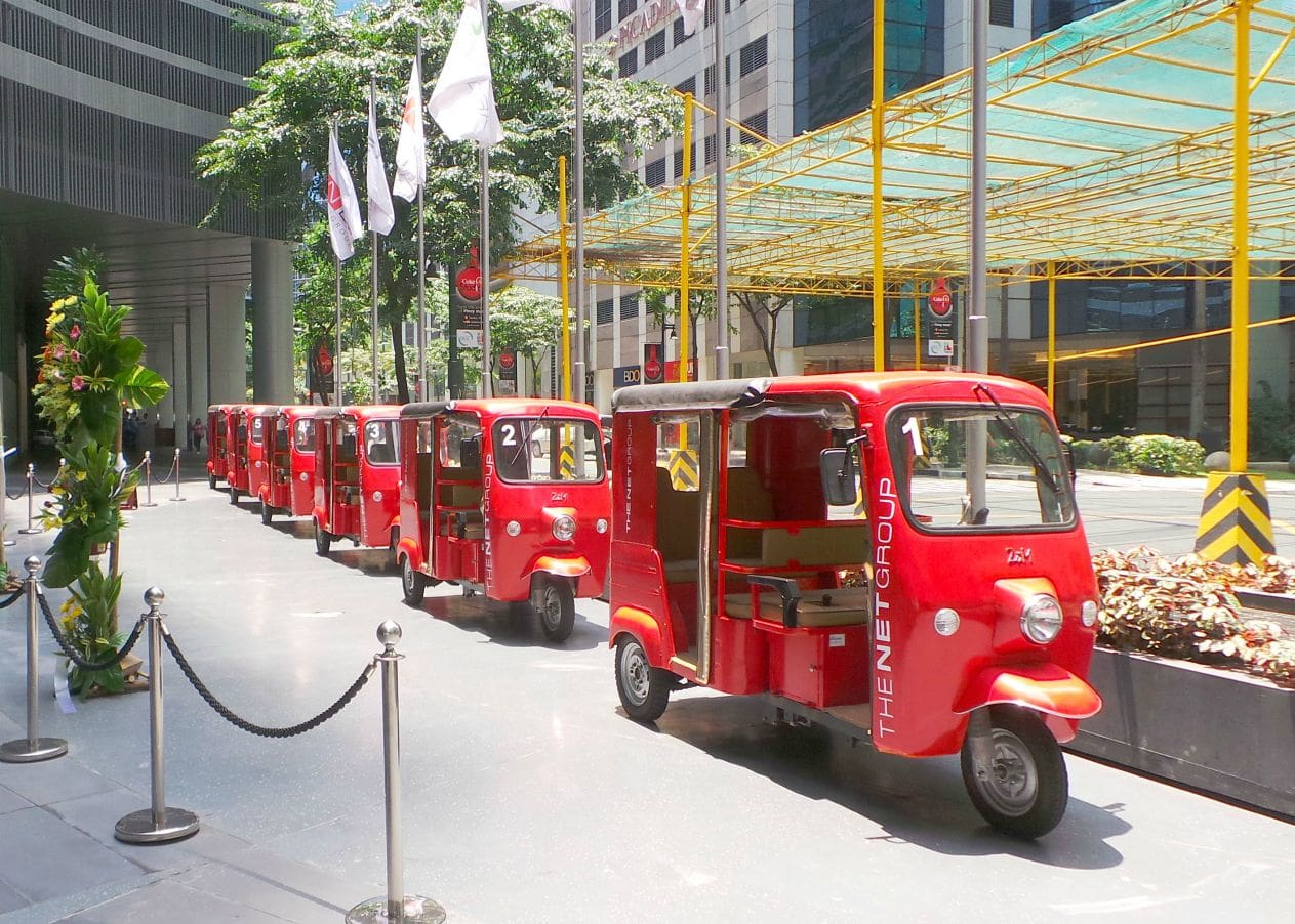 Fully Electric Tricycles Now Plying BGC Properties