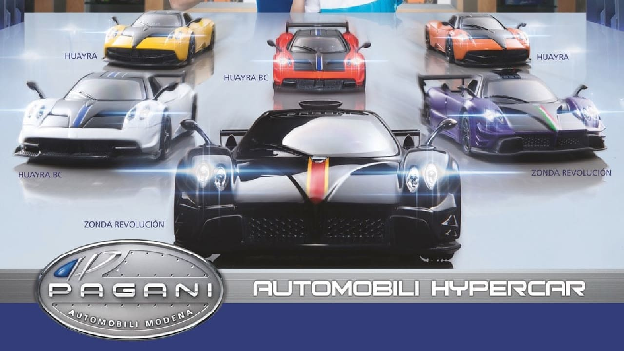 Six Cars Form Upcoming Petron Pagani Automobili Hypercar Collection