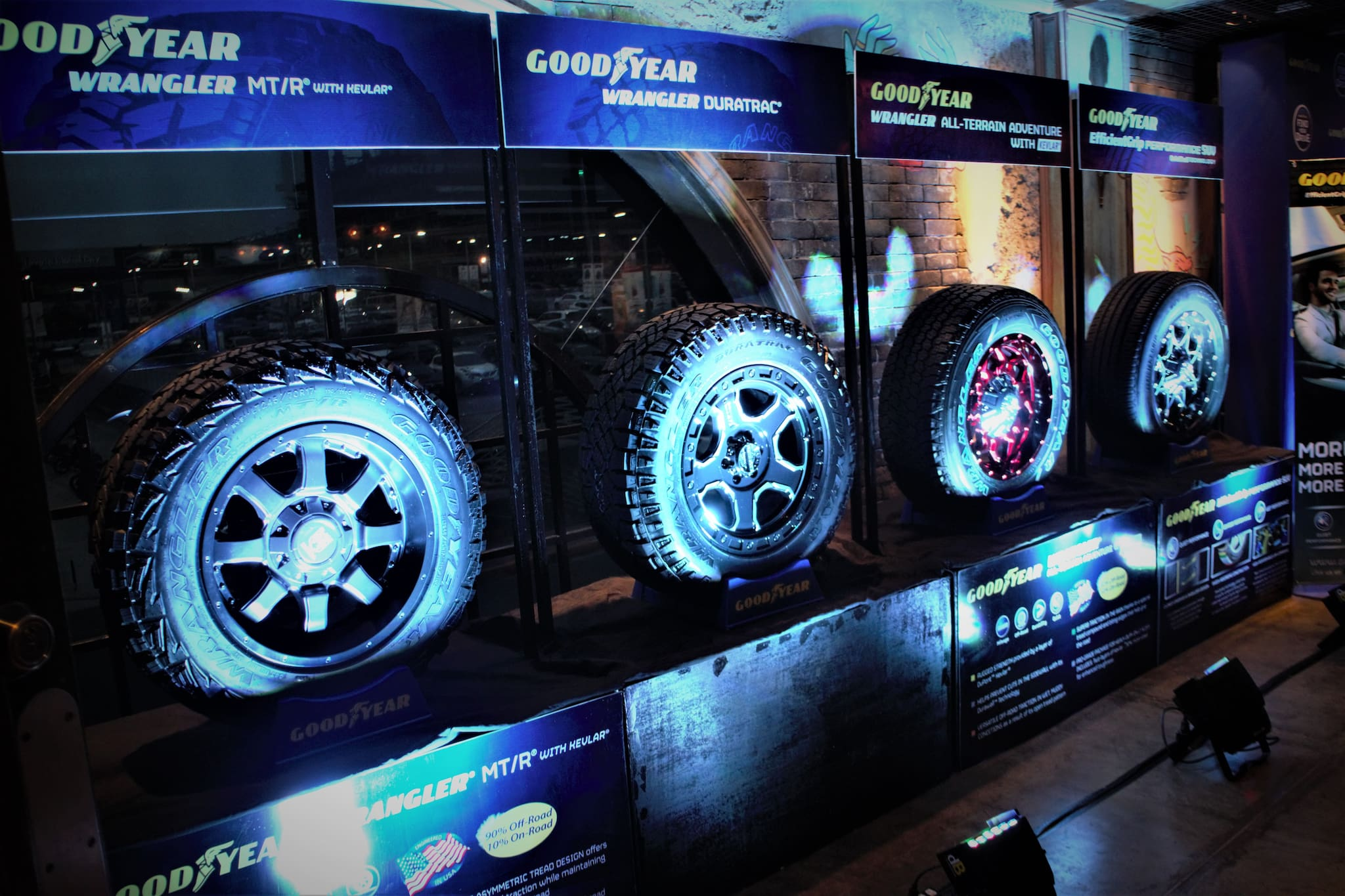 Goodyear PH Launches Four New SUV Tires