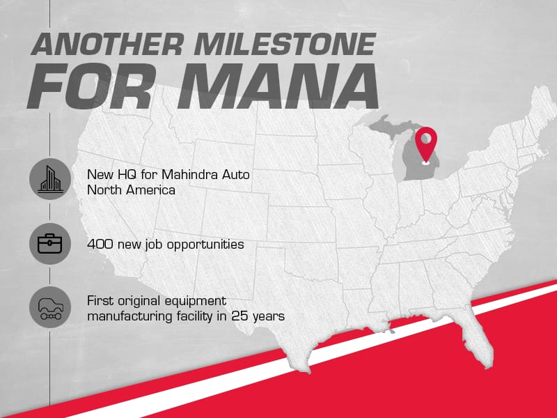 Mahindra's New Detroit Manufacturing Plant Signals Motor City Revival