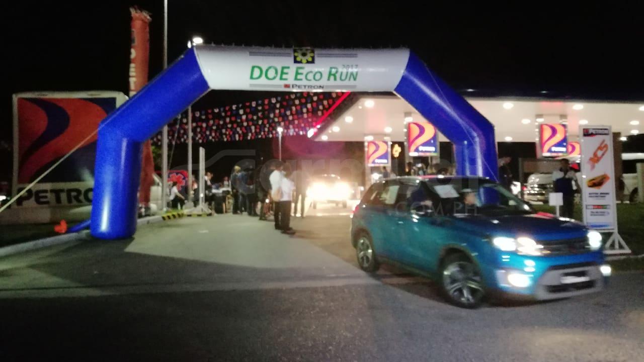Mini Countryman D, SsangYong Rodius Top 2017 DOE-Petron Eco Run