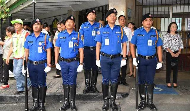 MMDA officers in official uniform