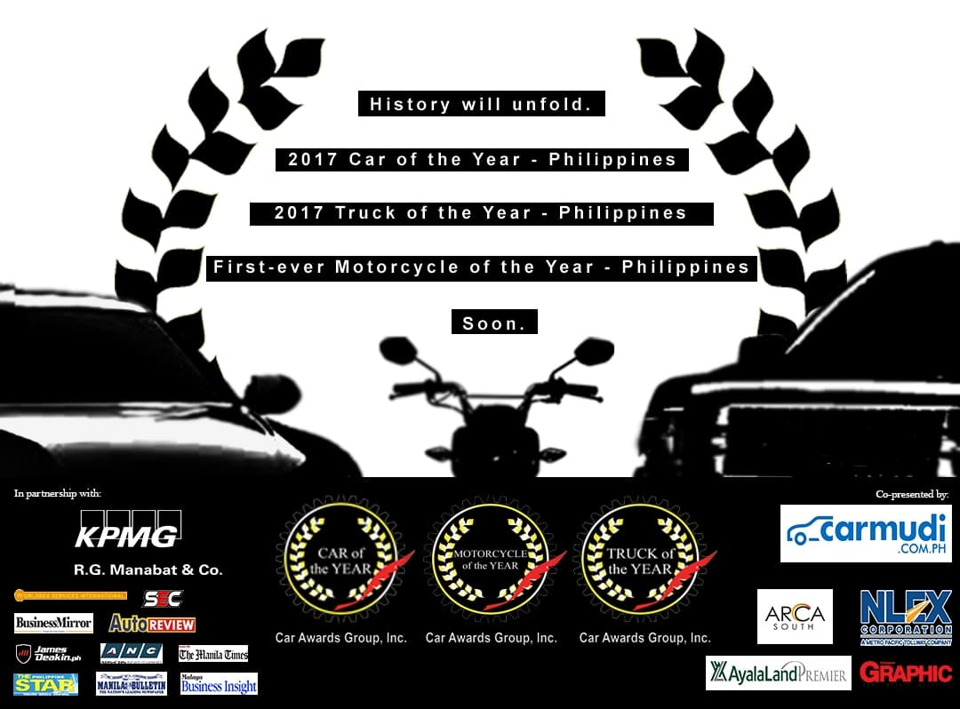 CAGI to Award Maiden Motorcycle of the Year-Philippines, Recognize Cars and Trucks Anew Tonight