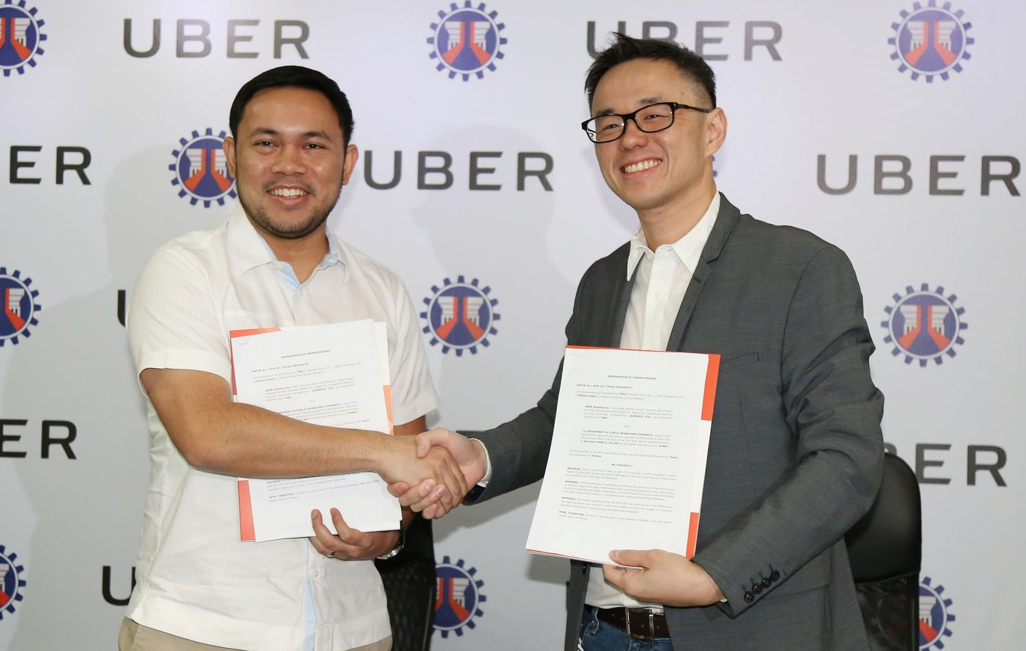 DPWH, Uber Join Forces to Fight Traffic