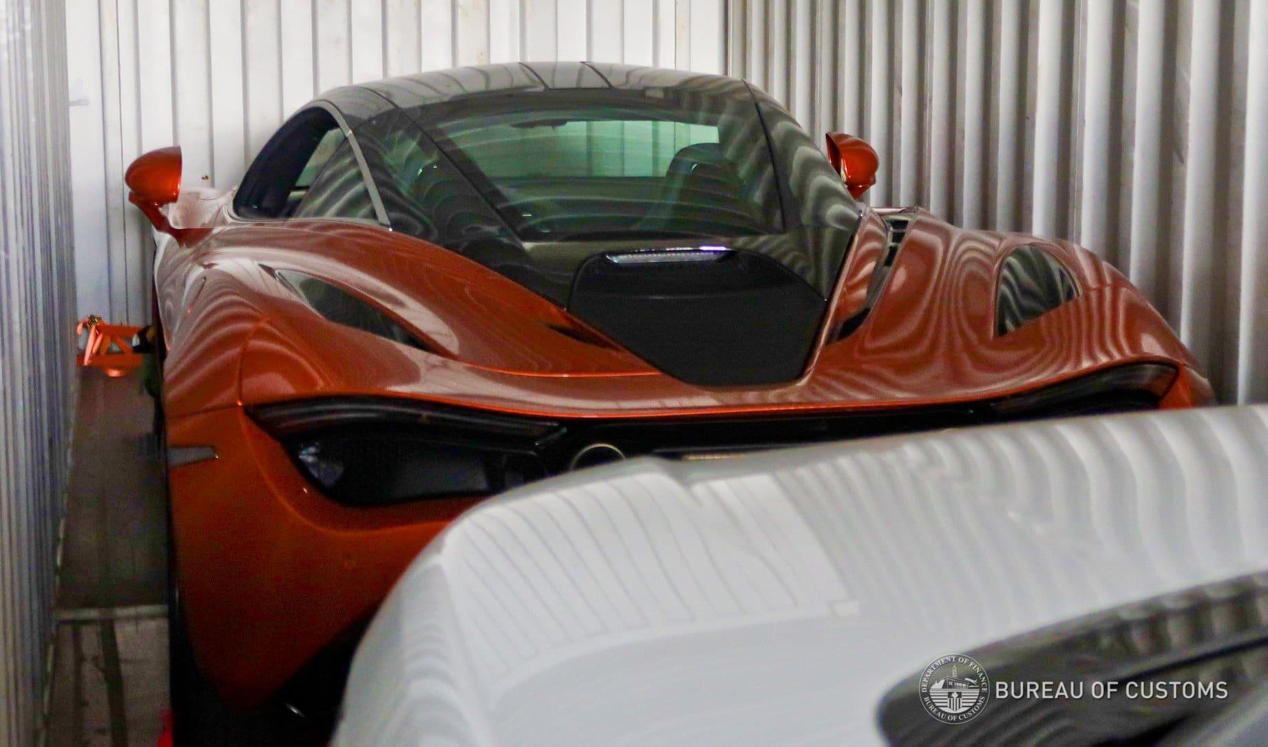 Bureau of Customs - McLaren 720S