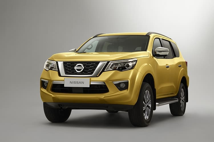 Nissan Finally Unveils Navara-Based SUV with Nissan Terra