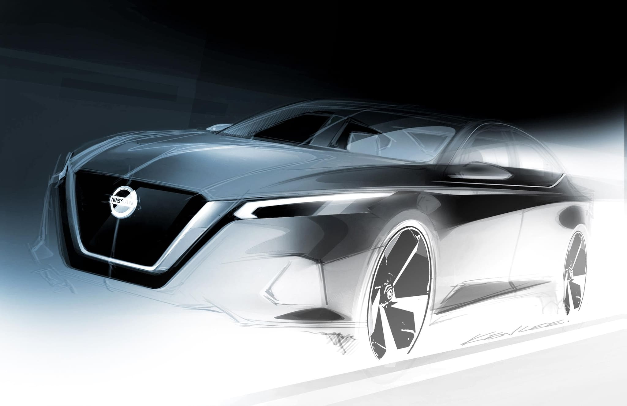 Nissan Previews All-New Nissan Altima